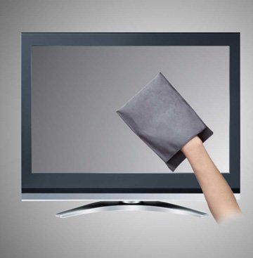 cleaning a plasma tv screen