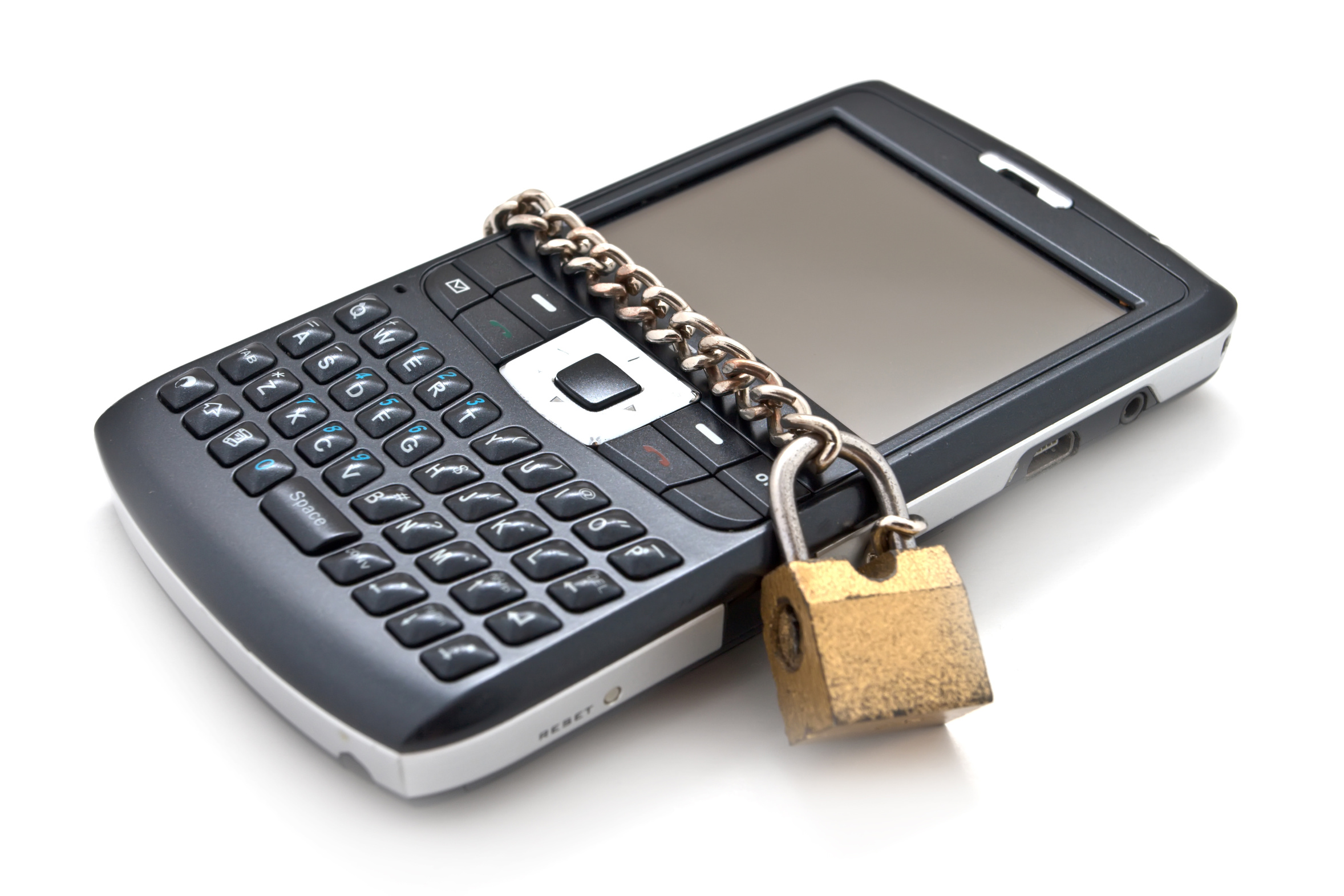 Protected mobile phone