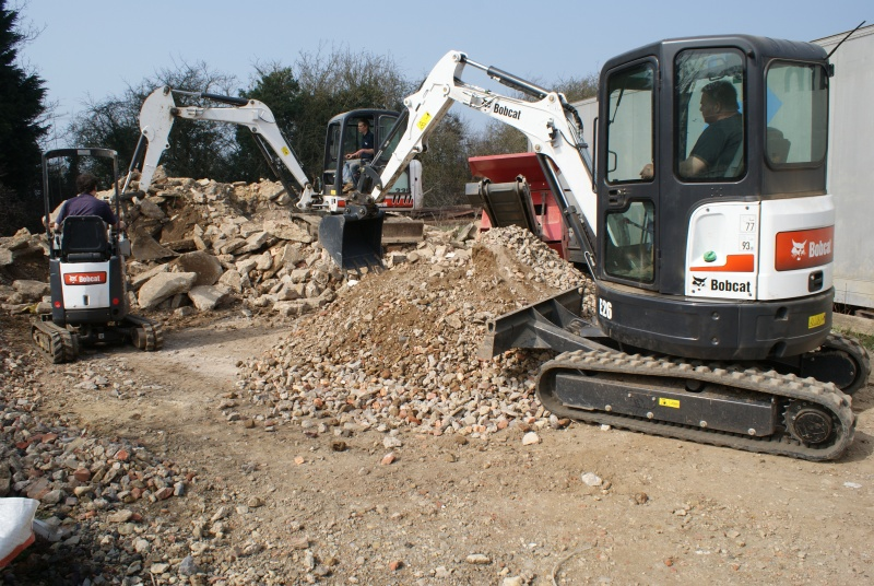 How to Run a Bobcat Excavator