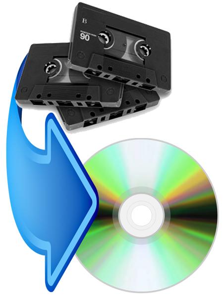 Cassette to CD
