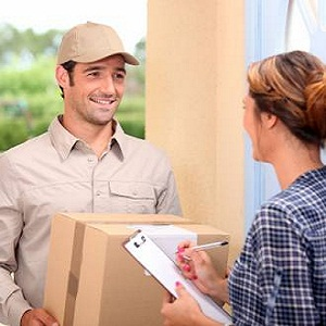 Courier or Mailing Service