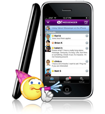 How to Set Yahoo Chat On a Mobile Phone