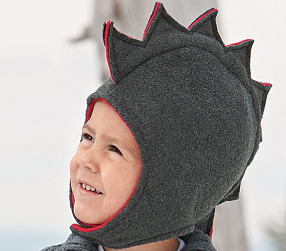 This free basic fleece hat pattern is the base for many of the hats on Fleece Fun. Master this and you'll be able to make all the fun variations like the Dragon hat, bear hat, hat with horns or ribbon hat. The measurements on the pattern are for the circumference of the head. So the measurement you would get if you too a measuring tape and wrapped in around a person's head.