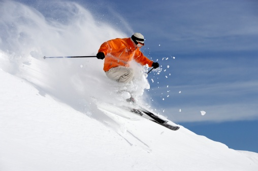 improve your skiing speed on easy slope