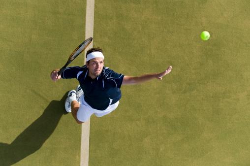 Stay Focused in Tennis