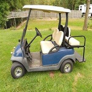 Golf Cart in Winter