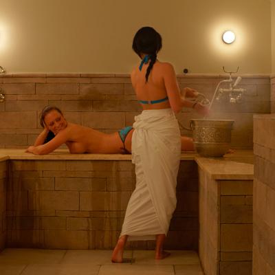 Taking a Turkish bath At Home