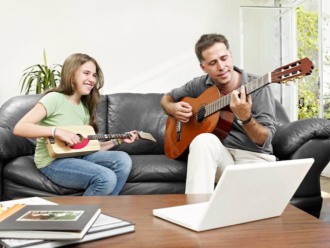 Teach a Child to Play Guitar