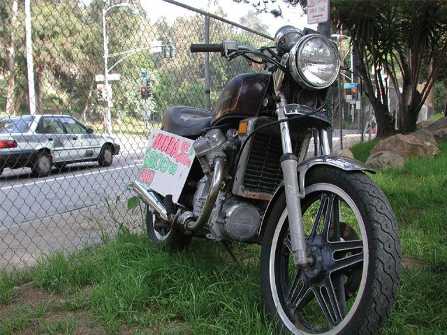 How to track the history of a used motorcycle for The national motor vehicle title information system