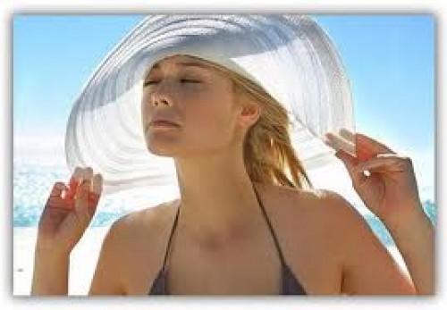Hair before Sunbathing