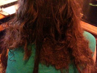 Matted Hair Extensions 13