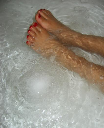 Bath Bomb in the Shower