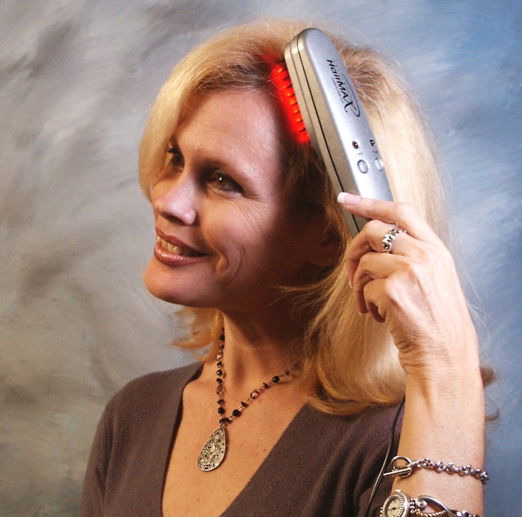 Laser Comb to Treat Hair Loss