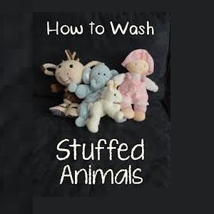 Wash Stuffed Animals