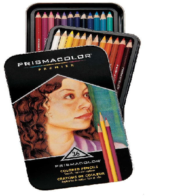 How to blend with prismacolor pencils