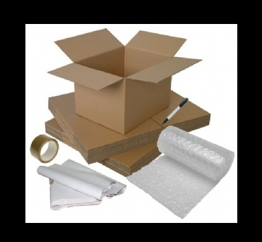 pack boxes for moving