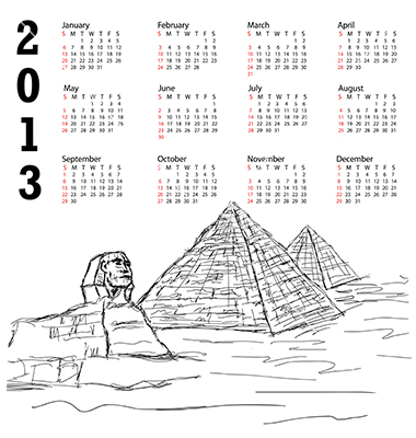 Schedule of Public & National Holidays in Egypt