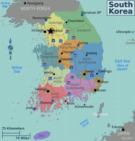 Public & National Holidays in Korea