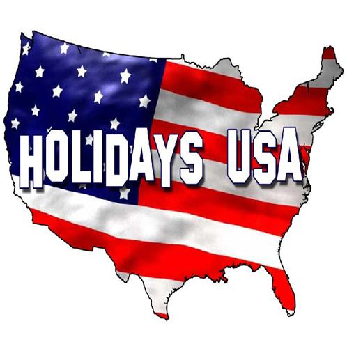National Holidays in USA