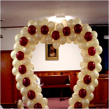 Valentine's Day Balloon Arch