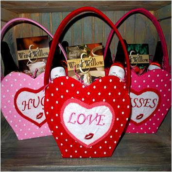 Valentine's Day  Note Tote