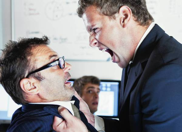 Anger control at work