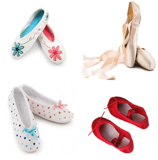 Ballet Slippers for Girls