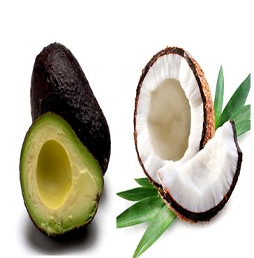 Coconut oil and Avocado Treatment for Dull Hair