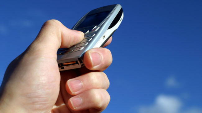 A mobile phone with GPRS and WAP