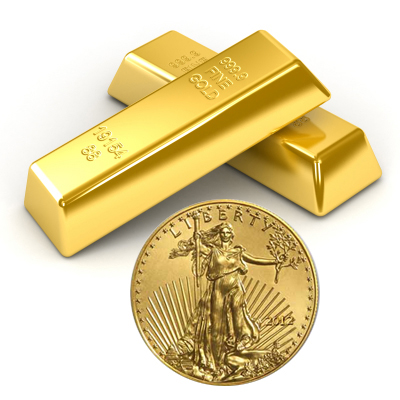 White Gold and Yellow Gold