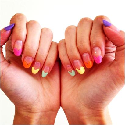 Heart Nail Art for Summer Manicure