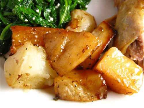 Delicious roasted potatoes