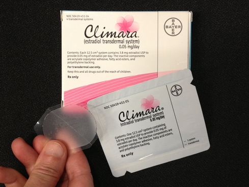 Apply Climara Patch