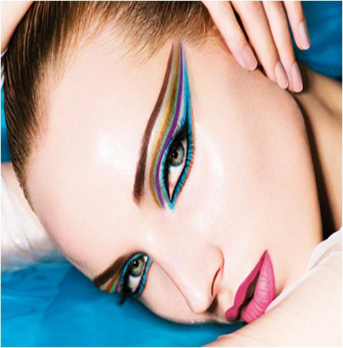 Apply Colored Eyeliner