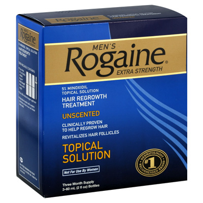 Apply Rogaine Correctly To Fight Hair Loss