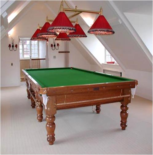 How To Attach A Billiard Light To The Ceiling