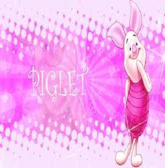 be a piglet fan