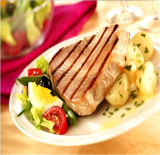 Broiled Tuna Steaks Recipe