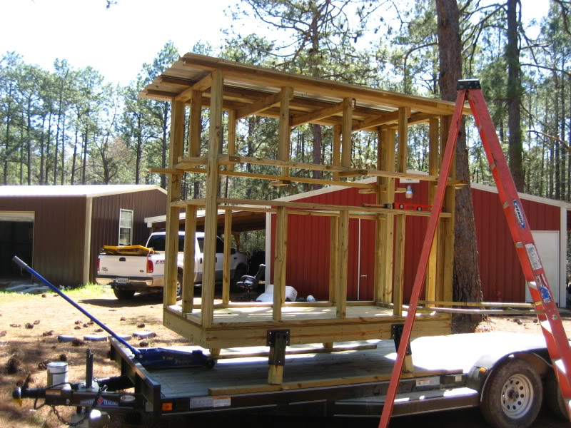 how to build deer blinds out of wood
