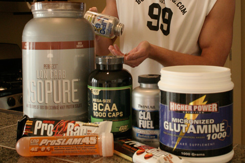Build Muscles with Supplements