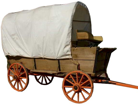 How to Build a Covered Wagon