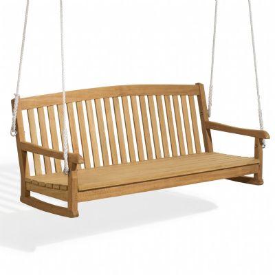 Wood Swinging Bench