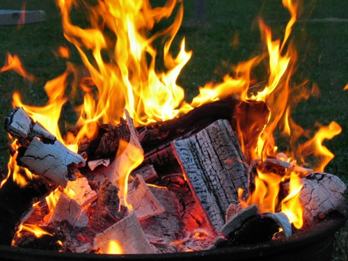 Tips to Build an Aerated Campfire
