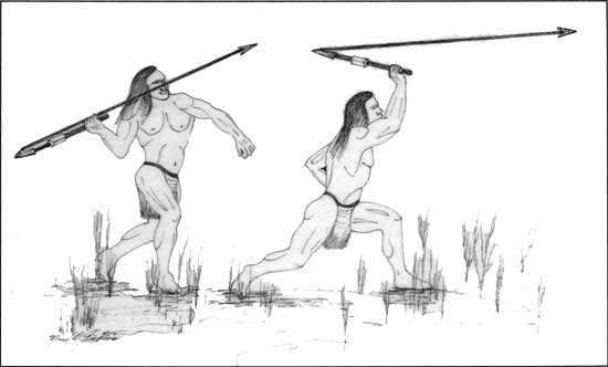 Atlatl Spear Thrower