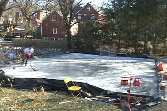 Ice Rink Parts With Versatility