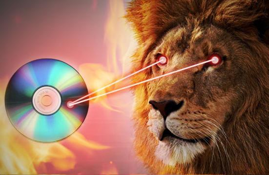 Burn Files to CD using MAC OS X Lion
