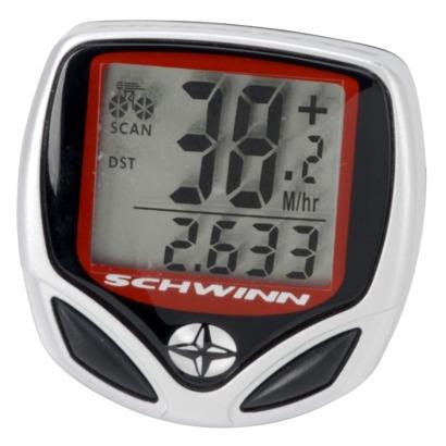 A Schwinn bike speedometer