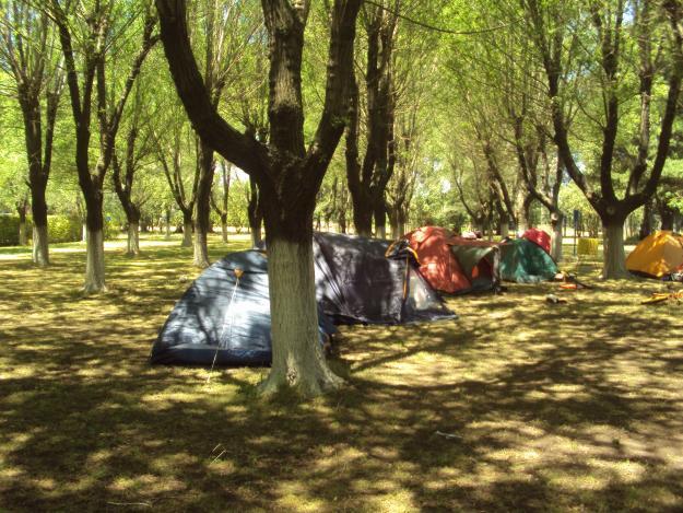 Camp at Mar Del Plata