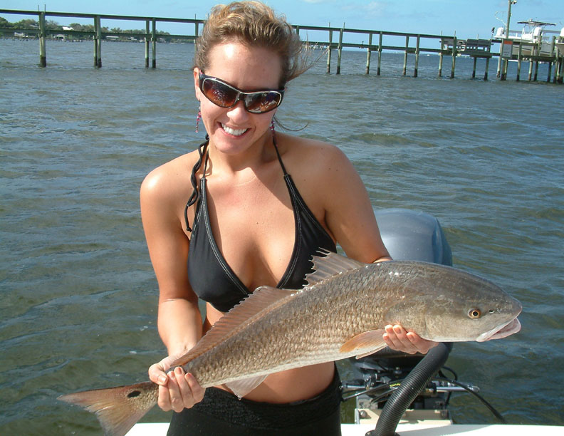 Catching a Redfish on a Fly Rod