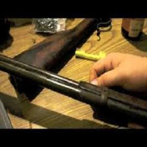 Clean Antique Guns at Home
